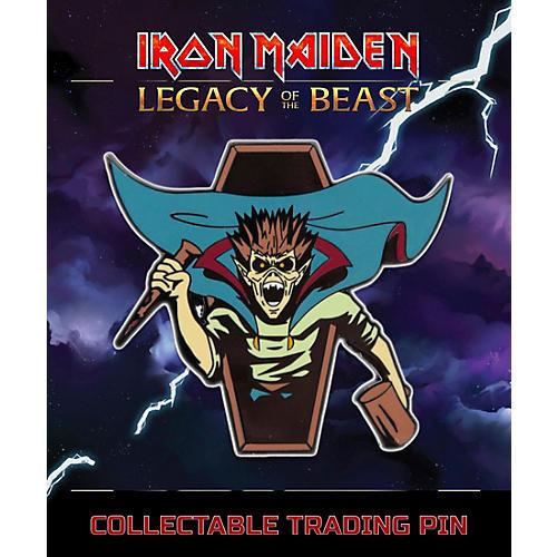 Entertainment Earth Iron Maiden Vampire Hunter Eddie Lapel Pin