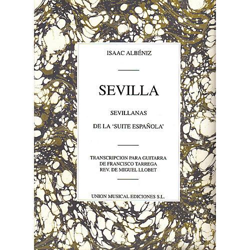 Music Sales Isaac Albeniz: Sevilla, Sevillanas (Suite Espanola Op.47) (Guitar) Music Sales America Series