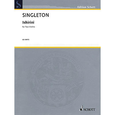 Schott Music Corporation New York Ishirini (Two Violins Two Performance Scores) String Series Softcover