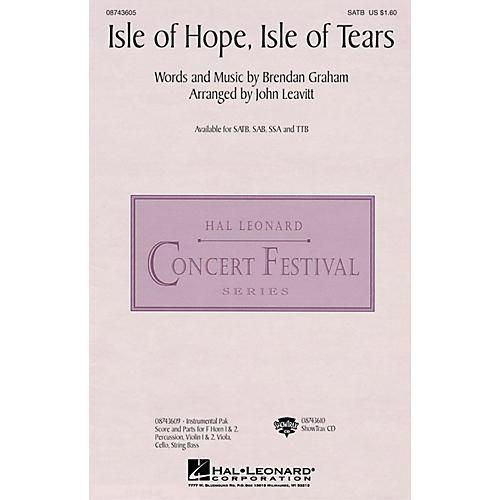 Hal Leonard Isle of Hope, Isle of Tears SAB by The Irish Tenors Arranged by John Leavitt