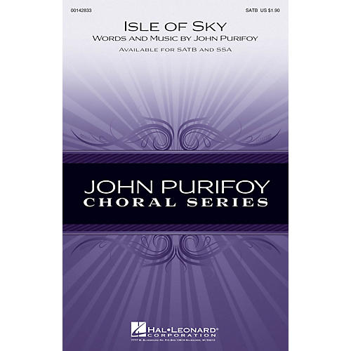 Hal Leonard Isle of Skye SATB composed by John Purifoy