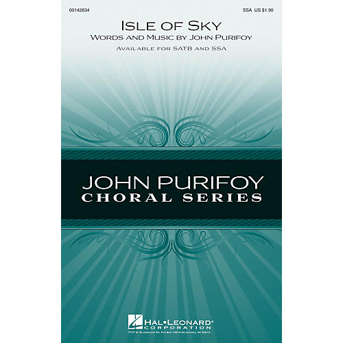 Hal Leonard Isle of Skye SSA composed by John Purifoy