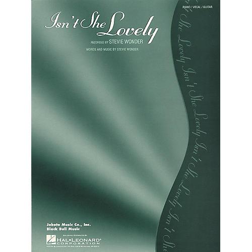 Hal Leonard Isn't She Lovely