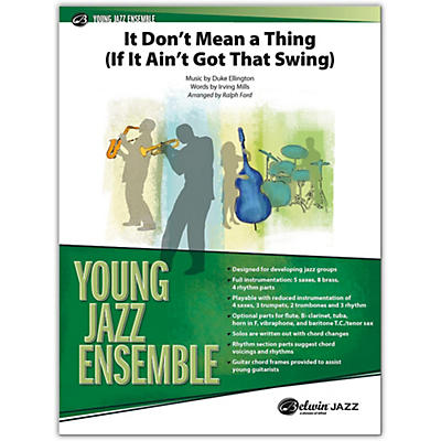 BELWIN It Don't Mean a Thing (If It Ain't Got That Swing) Conductor Score 2.5 (Medium Easy)