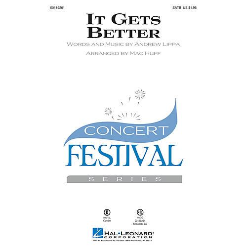 Hal Leonard It Gets Better SATB arranged by Mac Huff