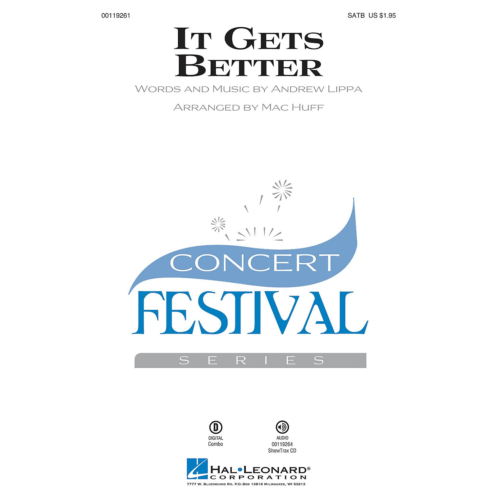 Hal Leonard It Gets Better ShowTrax CD Arranged by Mac Huff