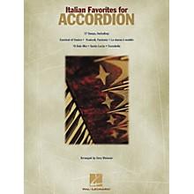 Hal Leonard Italian Songs for Accordion (Accordion)