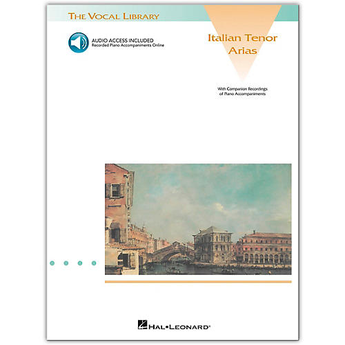 Hal Leonard Italian Tenor Arias (Book/Online Audio)