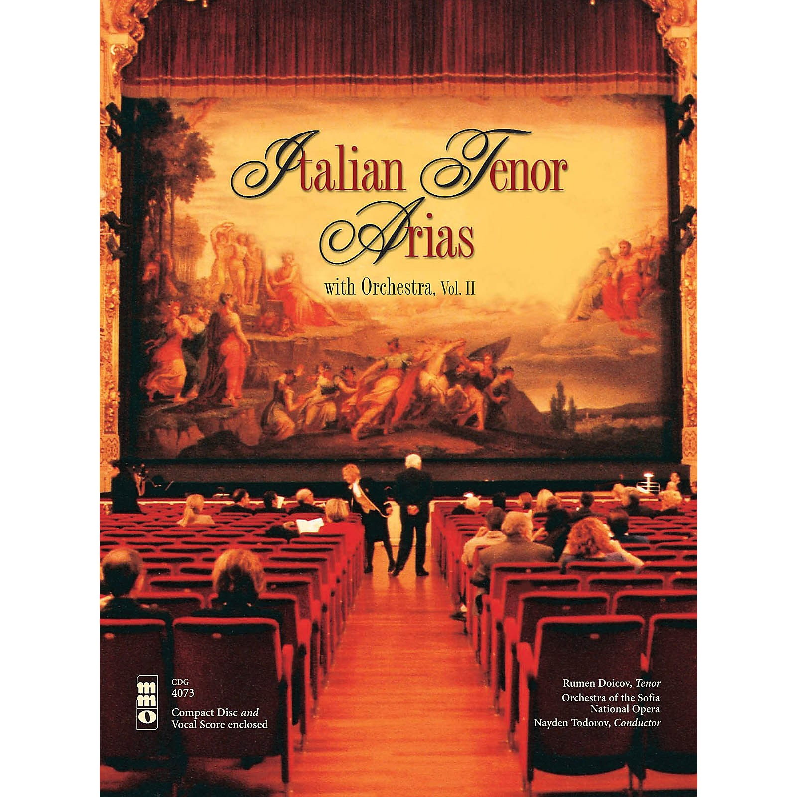 Music Minus One Italian Tenor Arias with Orchestra, Vol. II Music Minus One Series Softcover with CD  by Various