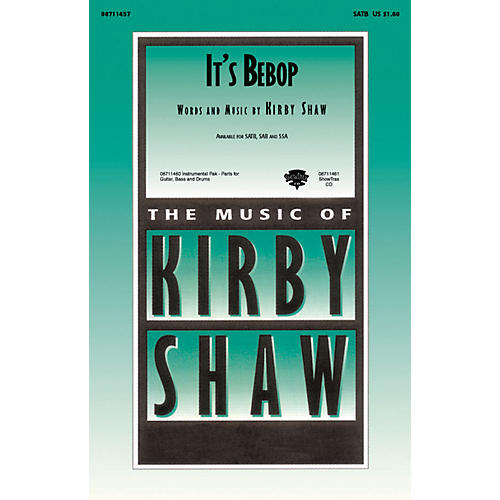 Hal Leonard It's Bebop SAB Composed by Kirby Shaw