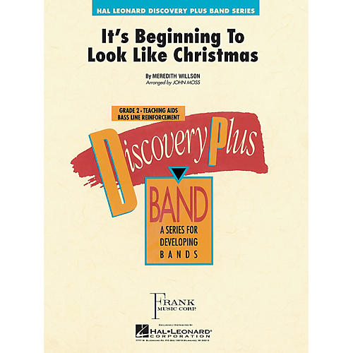 Hal Leonard It's Beginning to Look Like Christmas - Discovery Plus Concert Band Series Level 2 arranged by John Moss