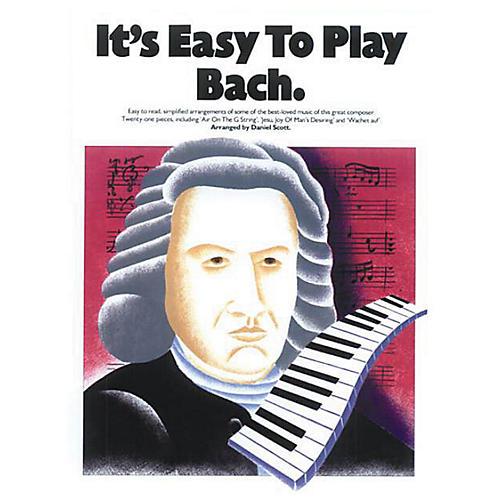 Music Sales It's Easy to Play Bach Music Sales America Series Softcover