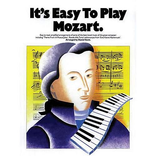 Music Sales It's Easy to Play Mozart Music Sales America Series Softcover