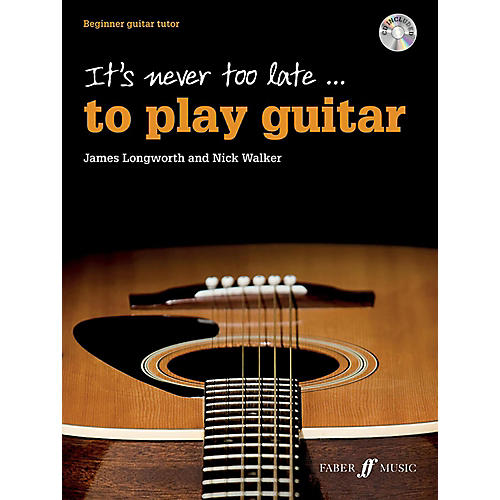 Alfred It's Never Too Late . . . to Play Guitar Book & CD Beginner