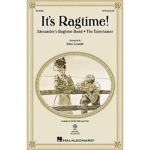 Hal Leonard It's Ragtime! SATB arranged by John Leavitt