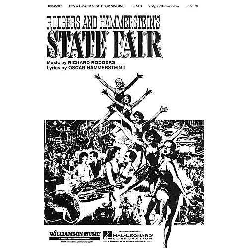 Hal Leonard It's a Grand Night for Singing (from State Fair) SATB arranged by William Stickles