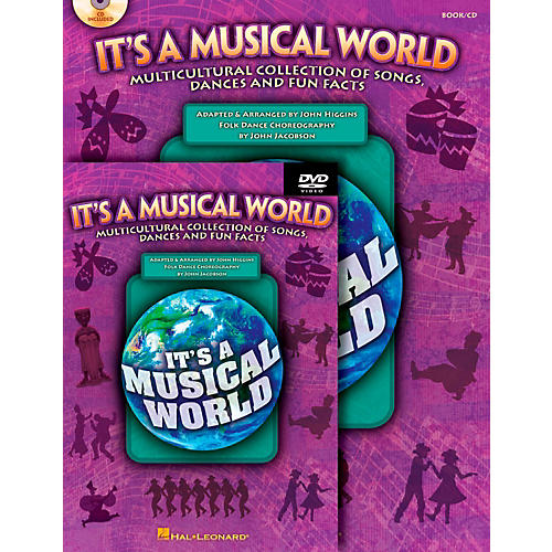 Hal Leonard It's a Musical World - Multicultural Collection of Songs, Dances and Fun Facts Classroom Kit