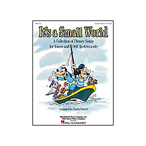 Hal Leonard It's a Small World - Disney for Voices and Orff Teachers Manual