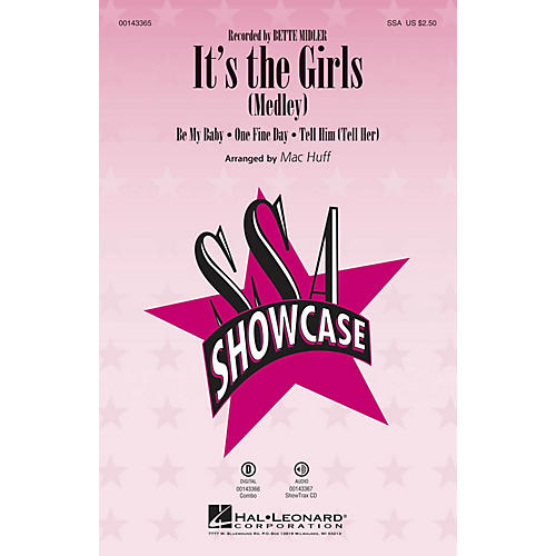 Hal Leonard It's the Girls (Medley) SSA by Bette Midler arranged by Mac Huff