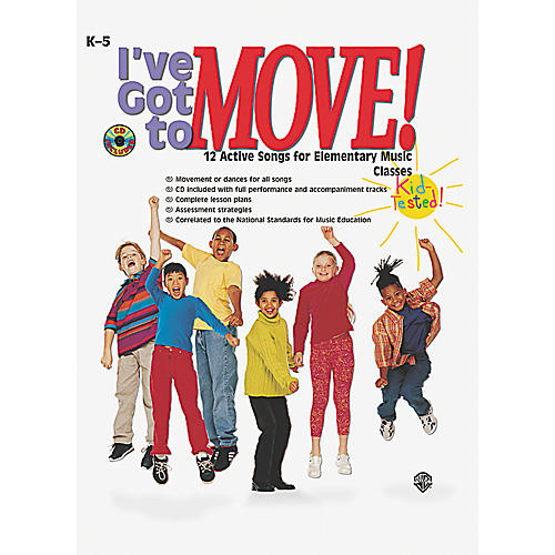 Alfred I've Got to Move! (Book/CD)