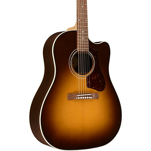 Gibson J-15 Special Cutaway Acoustic-Electric Guitar Walnut Burst