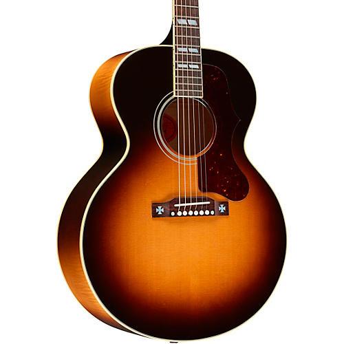 Gibson J-185 Original Acoustic-Electric Guitar Vintage Sunburst