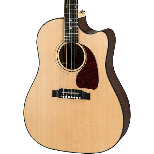 gibson j 45 modern walnut limited acoustic electric guitar antique natural musician 39 s friend. Black Bedroom Furniture Sets. Home Design Ideas