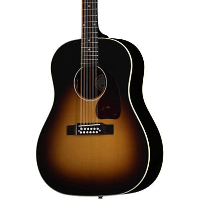 Gibson J-45 Standard 12-String Acoustic-Electric Guitar Vintage Sunburst