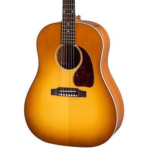 gibson j 45 standard acoustic electric guitar heritage cherry sunburst musician 39 s friend. Black Bedroom Furniture Sets. Home Design Ideas