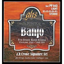 GHS J. D. Crowe Studio Signature 5-String Banjo Strings Light