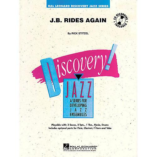 Hal Leonard J.B. Rides Again Jazz Band Level 1 Composed by Rick Stitzel