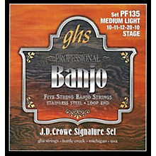 GHS J.D. Crowe Signature 5-String Banjo Medium Light Strings