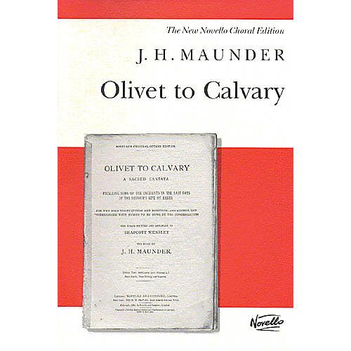 Music Sales J.H. Maunder: Olivet To Calvary Music Sales America Series