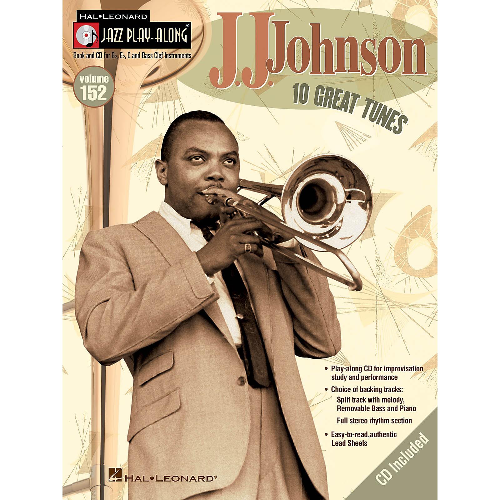 Hal Leonard J.J. Johnson (Jazz Play-Along Volume 152) Jazz Play Along Series Softcover with CD by J.J. Johnson