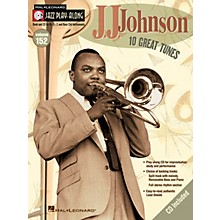 Hal Leonard J.J. Johnson (Jazz Play-Along Volume 152) Jazz Play Along Series Softcover with CD by J.J. Johnson
