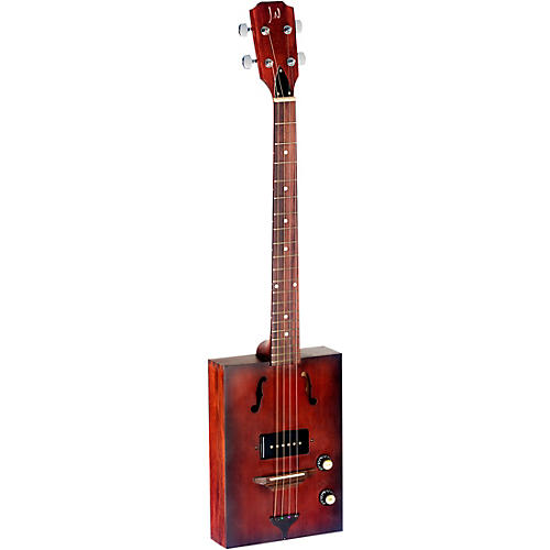 JN Guitars J.N. CASK Series Acoustic-Electric Cigar Box Guitar with Spruce Top