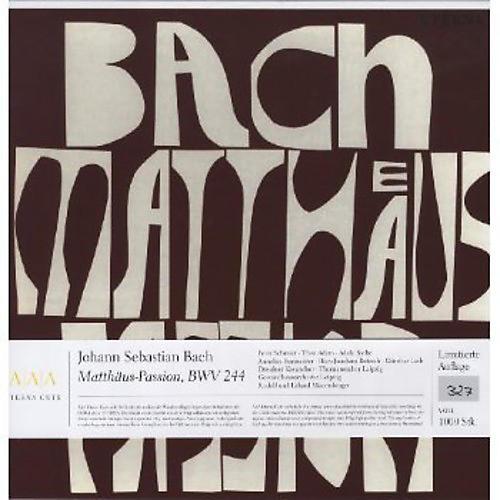 Alliance J.S. Bach - St Matthew Passion
