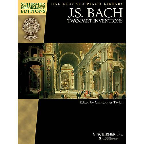 G. Schirmer J.S. Bach - Two-Part Inventions Schirmer Performance Editions Series Softcover by Johann Sebastian Bach