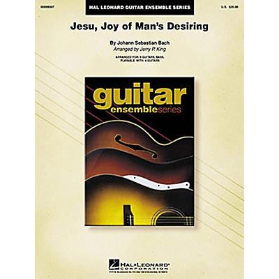 Hal Leonard J.S. Bach Jesu Joy of Man's Desiring Guitar Ensemble Score