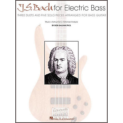 Hal Leonard J.S. Bach for Electric Bass Guitar