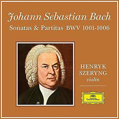 J.S.Bach: 6 Sonatas & Partitas for Violin Solo