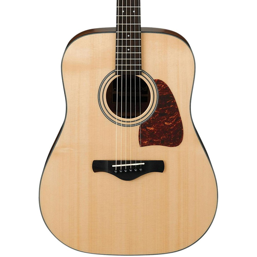 ibanez aw400 artwood solid top dreadnought acoustic guitar natural mc ebay. Black Bedroom Furniture Sets. Home Design Ideas