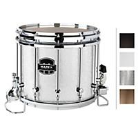 Mapex Quantum Xt Snare Drum 14 X 12 In. Silver Diamond/Gloss Chrome