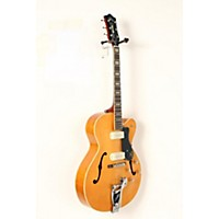 Used Guild X-175B Manhattan Hollowbody Archtop Electric Guitar With Guild Vibrato Tailpiece Blonde 190839044266