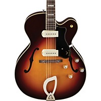 Guild X-175 Manhattan Hollowbody Archtop Electric Guitar Antique Burst