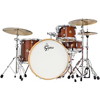 Gretsch Drums Catalina Maple 4-Piece Shell Pack With 22 Bass Drum Walnut Glaze