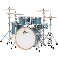 Gretsch Drums Catalina Maple 5-Piece Shell Pack With 20 Bass Drum Aqua Sparkle