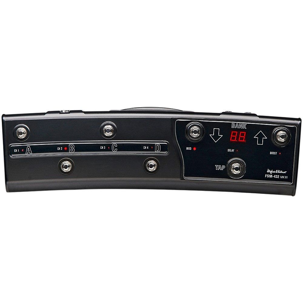 Used Hughes & Kettner Fsm 432 Mk Iii Midi Footswitch Controller For Tubemeister And Grandmeister (J03761L) photo