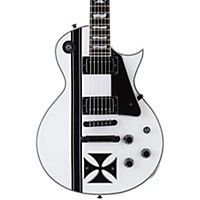 Esp Ltd James Hetfield Signature Iron Cross Electric Guitar Snow White