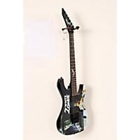 Used Esp Ltd Kirk Hammett Signature White Zombie Electric Guitar Graphic 190839007544